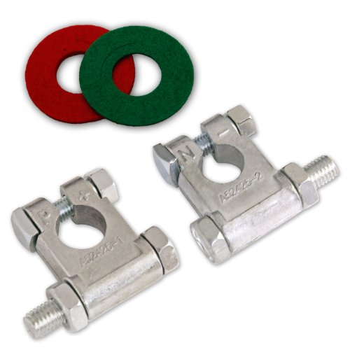 NOCO TZKIT3 Lead-Free Military Grade Zinc Battery Terminal Kit