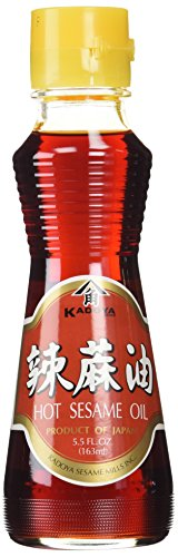 Kadoya Brand 100% Pure Hot Sesame Oil (5.5 OZ)