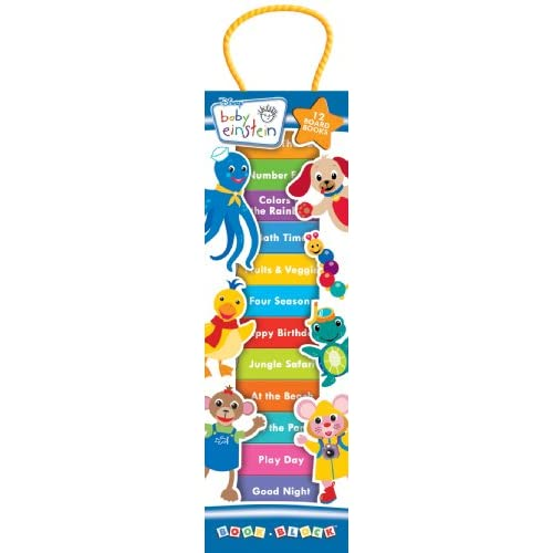 Baby Einstein 12 Board Book Block Tower: Editors of Publications