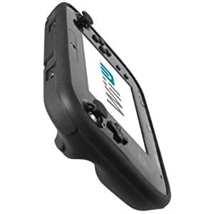 mumbi silicone TPU Coque Nintendo Wii U - Silicone Etui Housse Protecteur Case Noir