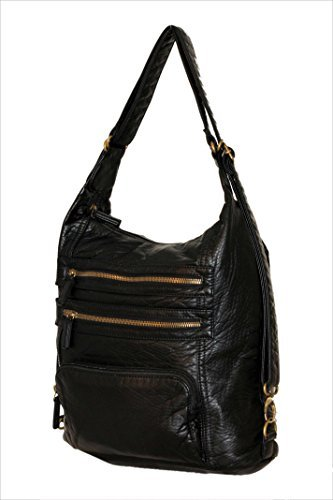 convertible-purse-to-backpack-soft-vegan-leather-handbag-lots-of-pockets-black