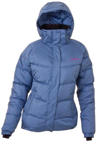 Twentyfour Damen Seven Daunen Jacke - Farbe: staubblau Größe: 46