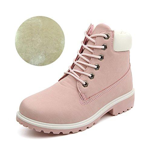 damen-worker-boots-plusch-mit-gefutterte-winterstiefel-warme-stiefel-schone-prinzessin-rosa