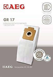 AEG GR 17 Vampyrette 2.0 - Bolsas para aspiradora  (tamaño 17)