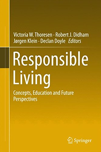 Responsible Living: Concepts, Education and Future Perspectives
