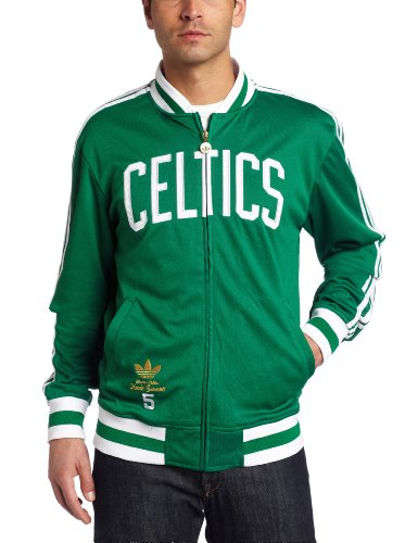 NBA Men's Boston Celtics Kevin Garnett Originals Legendary Current Player Jacket (Kelly, Large) at Amazon.com