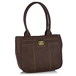 Fostelo Women's Handbag Brown (FSB-419)
