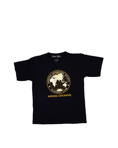 National Geographic T-Shirt Manica Corta Big Earth [Blu Notte]