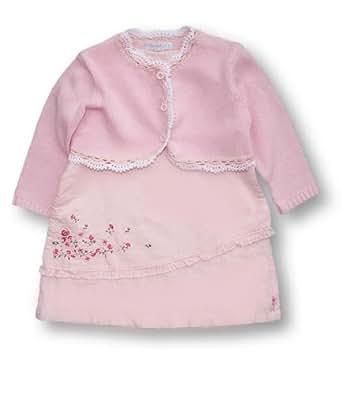Vanilla Park Linen Mix Dress and Cardigan, Dress sets, Girls, 18-24 months
