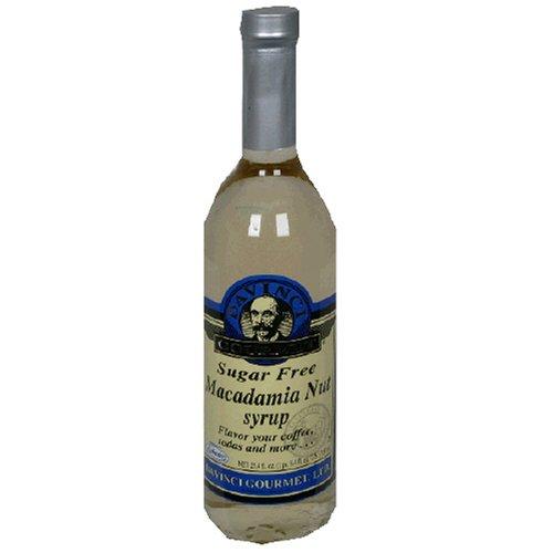 Davinci Sugar Free Macadamia Nut Syrup W/ Splenda 750 Ml