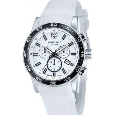 Swiss Eagle Reloj de cuarzo Field Blanco 45  mm