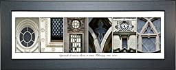 Personalized Baby Gift Name Sign for Newborn Baby Boy or Girl with 8 by 20 inch Shelf Top Frame and Hanger- Exclusively By Creative Letter Art�