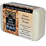 One With Nature Dead Sea Mineral Shea Butter Soap - 7 Oz - Pack Of 1