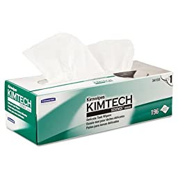 KCC34133 - Kimtech Science Kimwipes Delicate Task Wipers, 11 4/5 X 11 4/5