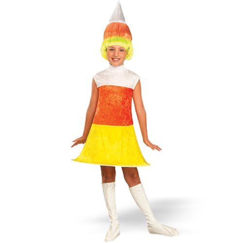 Fruity Licious Candi Korn Child Girl's Halloween Costume (Medium)- Sizes 8-10