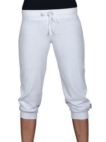Pussy Deluxe - pantaloni capri - White-XS