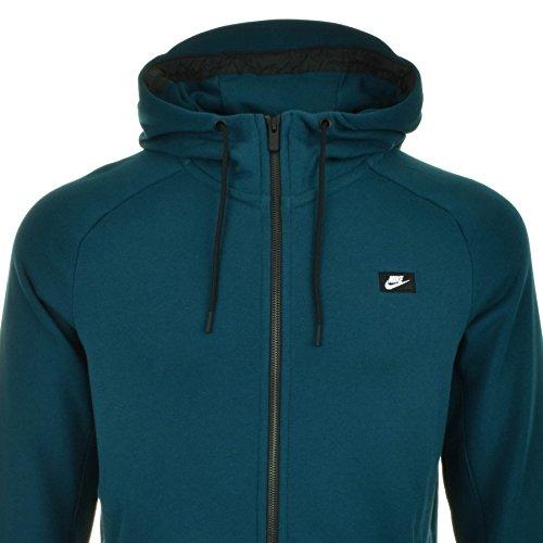Nike felpa moderno verde Green S