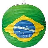 Ballonlaterne / Lampion: Brasilien 24cm