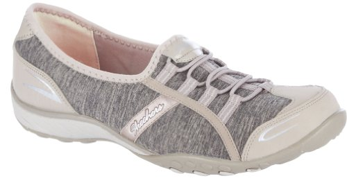 Skechers Women's Good Life Fashion Sneaker,Taupe,8 M US