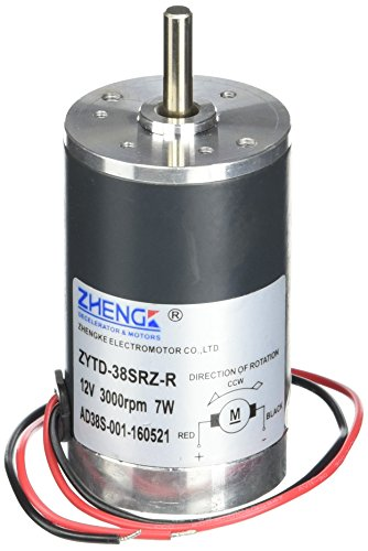 300G.cm DC 12V 0.58A Brushed Electric Motor 3000RPM (Brushed Electric Motor compare prices)