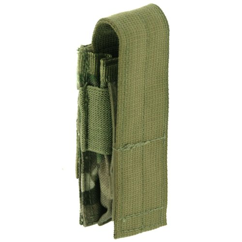 Pro-Force Tactical Single Pistol 9mm Magazine Pouch MOLLE Airsoft MultiCam Camo