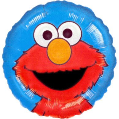 "18"" Elmo Portrait (1 per package)"