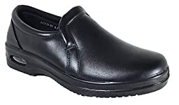 Mens Oil Resistant Anti Slip Restaurant Working Shoes With Air (Acco)) (12, Slip On)