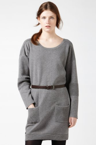 Double Face Cotton Sweater Dress