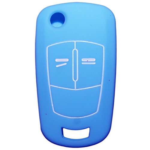 muchkey-silicone-car-key-cover-skin-jacket-fit-for-vauxhall-opel-2-buttons-key-case-1pc-light-blue