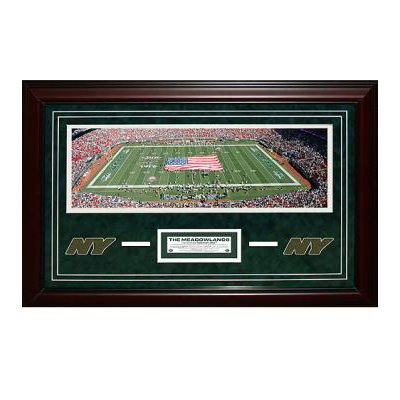 New York Jets Meadowlands Panoramic Turf Collage at Amazon.com
