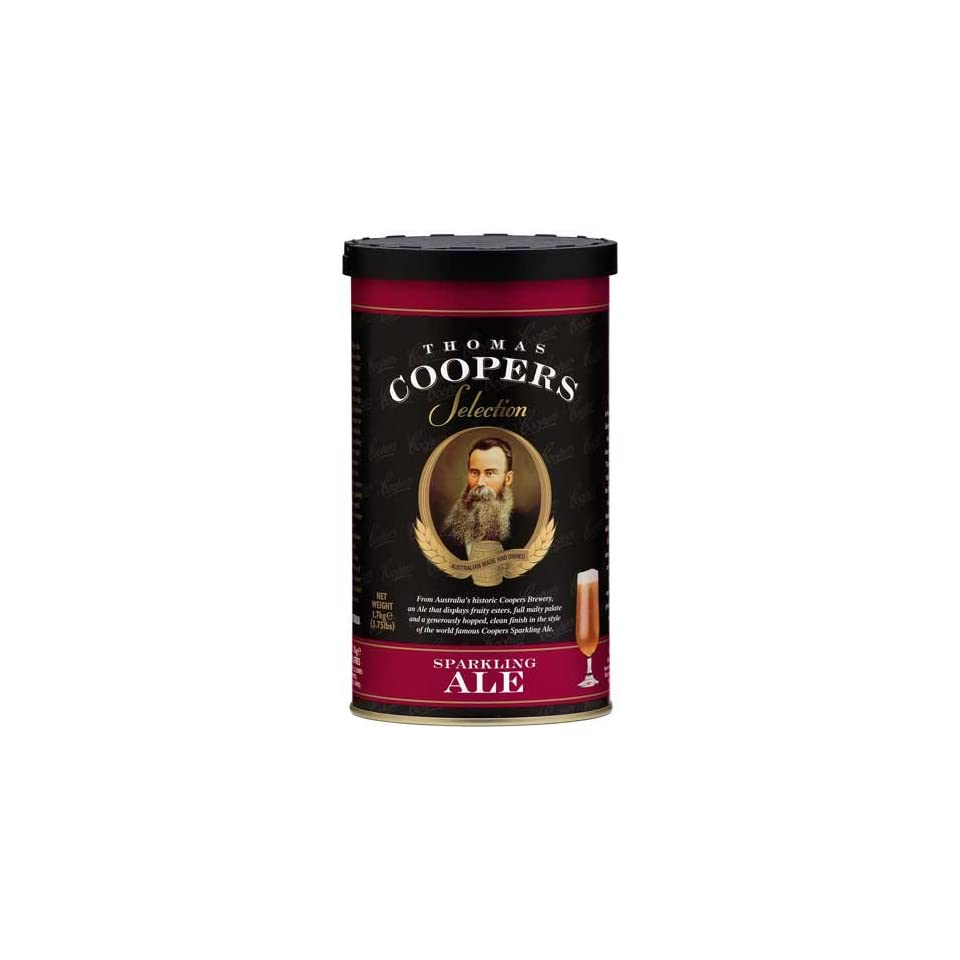 Complete Coopers Brewery Sparkling Ale Beer Kit Package