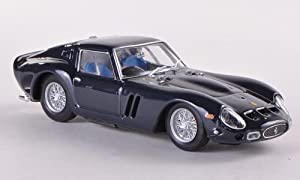 Ferrari 250 GTO, RHD, nacht-blue, 1962, Model Car, Ready-made, Brumm 1:43 by Brumm