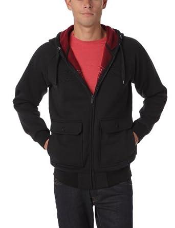 RIP CURL Plush Sherpa HZ Fleece Men's Jumper Black Large