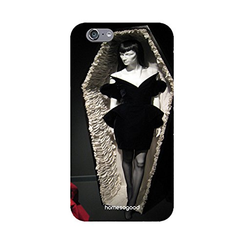 HomeSoGood Gothic Amazing Coffin Black 3D Mobile Case For iPhone 6S (Back Cover)