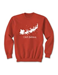 Still Believe Red Sweatshirt Small