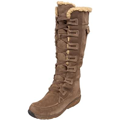 Timberland Women's 21634 Earthkeepers Grandby Tall Fleece Lined Boot,Taupe,6.5 W US