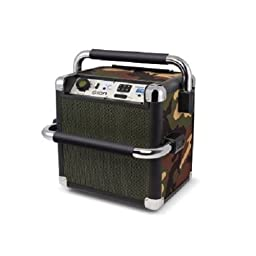 ION Audio Tailgater Active (iPA30A) | Portable Heavy-Duty Outdoor Bluetooth Speaker with AM/FM Radio (Camo)