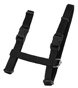 Coastal Pet Products CCP6341BLK Adjustable Figure H Harness - Black