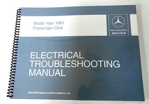 Mercedes Electrical Service Manual W107 380Sl 1981