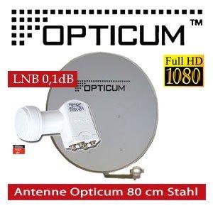 Opticum Digitale SAT Anlage inkl. Opticum Quad LNB