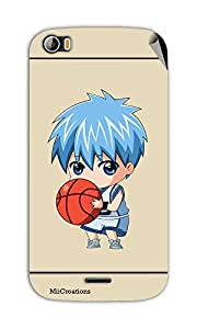 Miicreations Mobile Skin Sticker For Micromax canvas doodle-2-A-240,Cute Boy