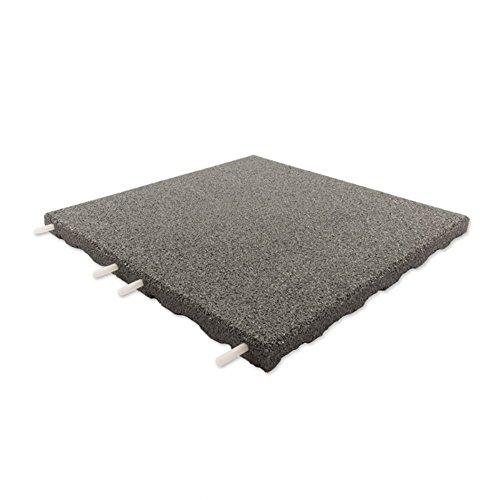 technikplaza d lux terrassenfliesen 204 st ck in grau. Black Bedroom Furniture Sets. Home Design Ideas