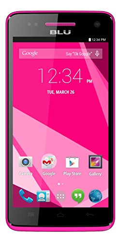 BLU Studio 5.0 C HD Quad Core - Unlocked Cell Phone - (Pink)
