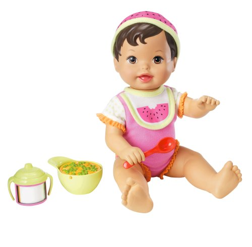 Little Mommy Sweet Eats Hispanic Doll - 1