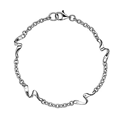 Hot Diamonds Pirouette Bracelet of 19cm