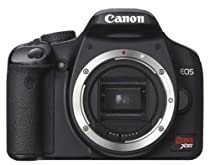 Canon Digital Rebel XSi 12MP Digital SLR Camera (Black Body Only)