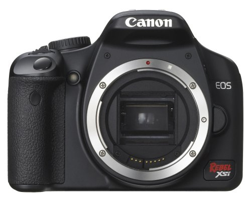 41cPq1ET2uL Canon Digital Rebel XSi 12.2 MP Digital SLR Camera (Black Body Only)