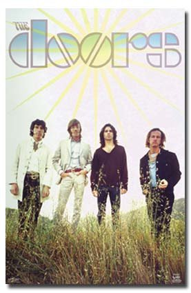 The Doors Poster Waiting For The Sun - Jim Morrison