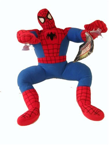 Marvel Spiderman plush w/ window suction cup - 1