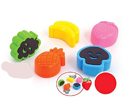 StarMall 5pcs Stampers for Doodler Magnetic Drawing board